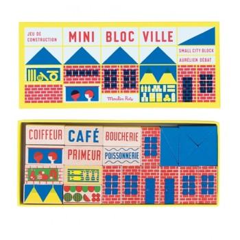 Mini bloc Ville Moulin Roty