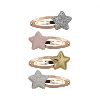 Barrettes étoiles clips