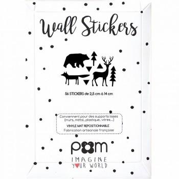 Stickers foret Pom