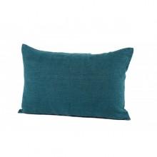 Coussin lin 40x60 cm bleu de prusse