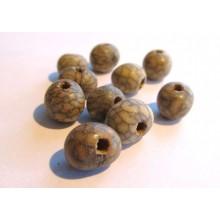 10 perles graines d'Acaî
