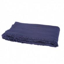 Plaid indigo Harmony textile