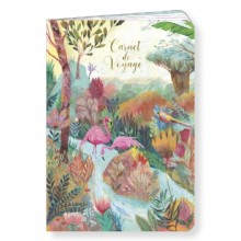 Carnet flamant rose