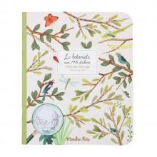Carnet de coloriage le botaniste